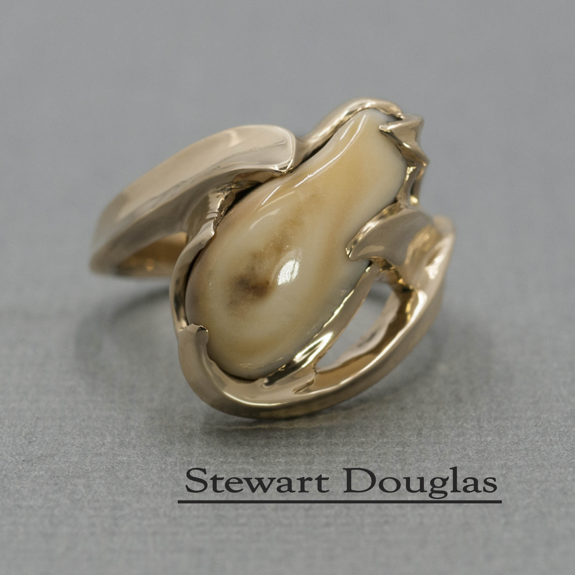 Elk Ivory Ring Dale S Jewelers
