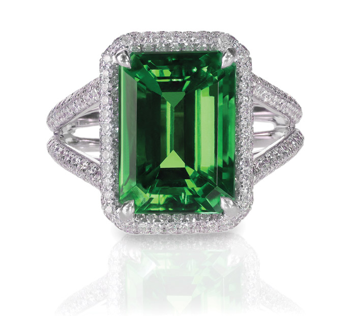 Emerald is prized for it's brilliant green color, and makes a beautiful statement on any piece of jewelry. If you're looking for a way to stand out, ...